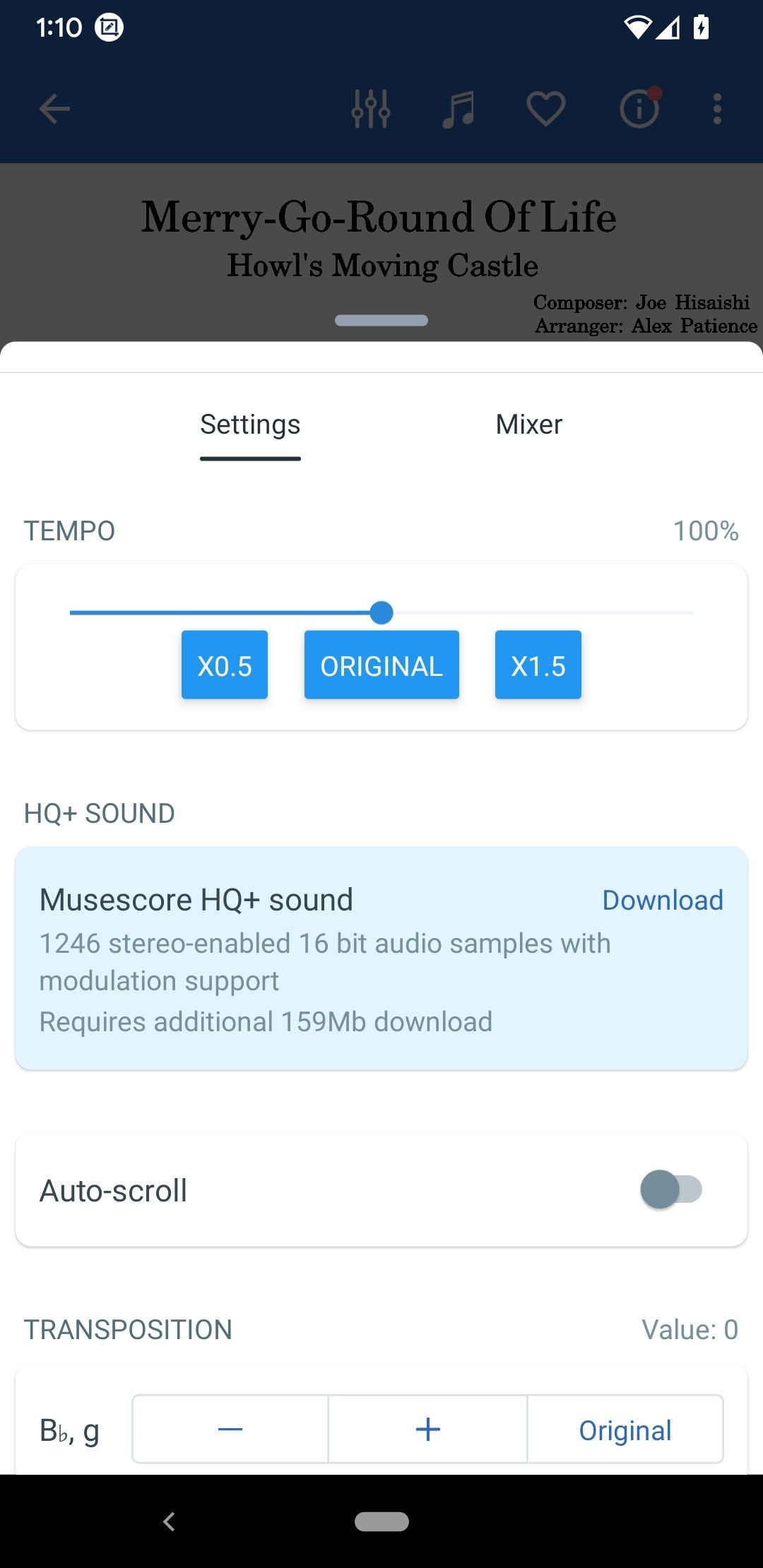 MuseScore 2 4 8 - Download for Android APK Free