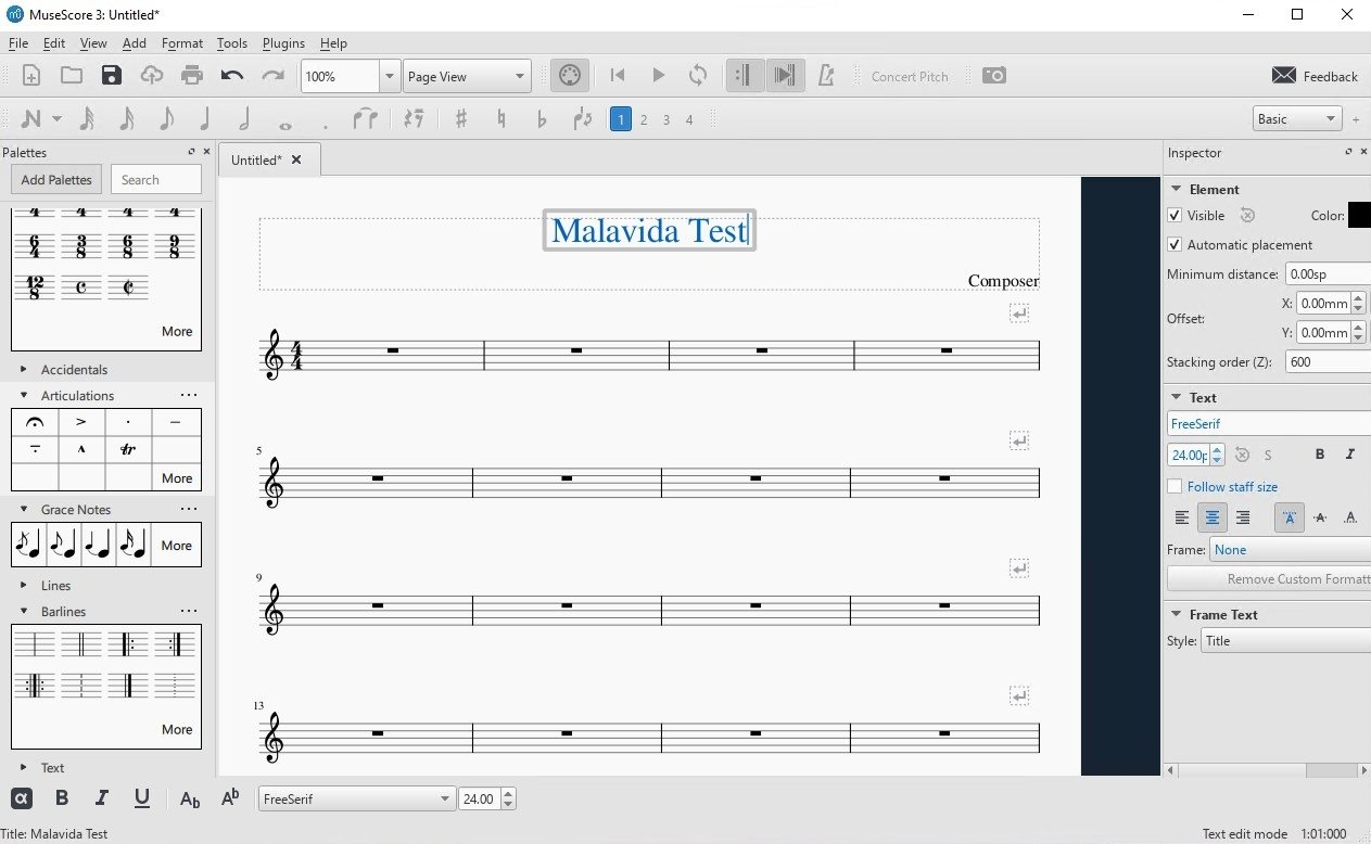 MuseScore 2 3 2 - Download for PC Free