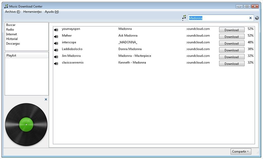 free music downloading software for pc