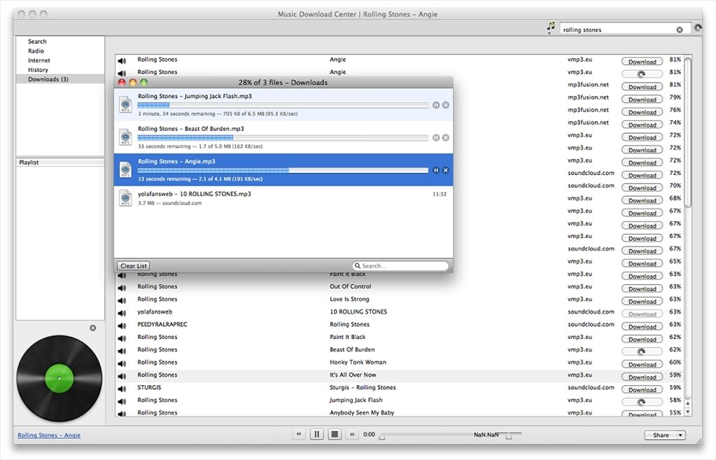 Music Download Center Mac image 5