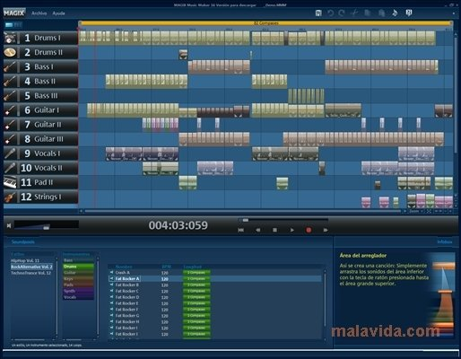 ACID Music Studio 10 - Free download and software reviews