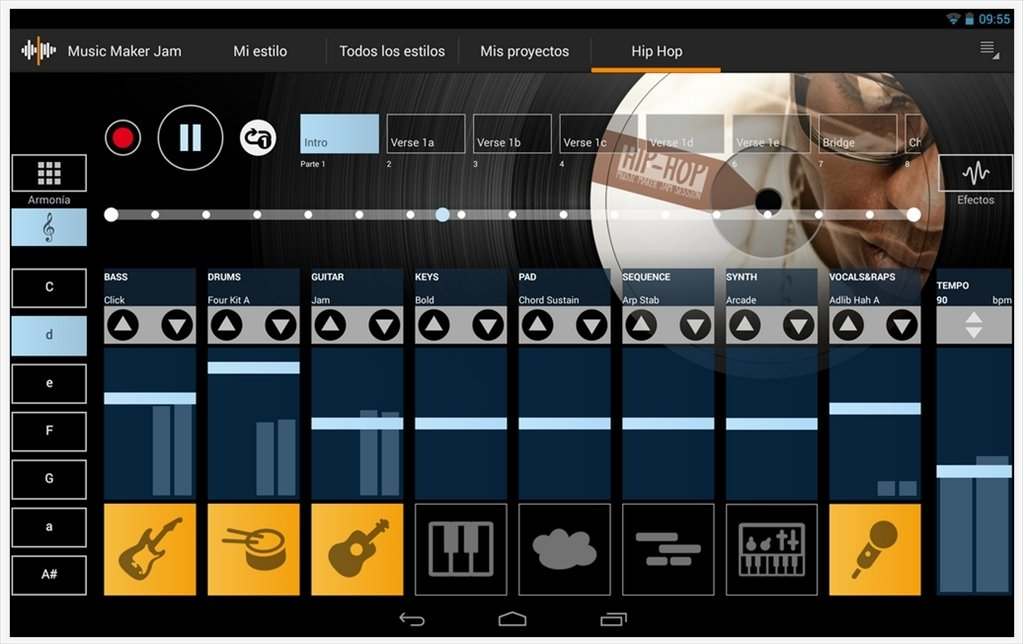 Music maker jam android hackeado