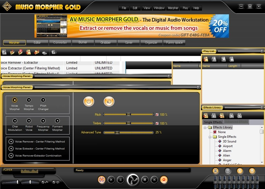Music Morpher