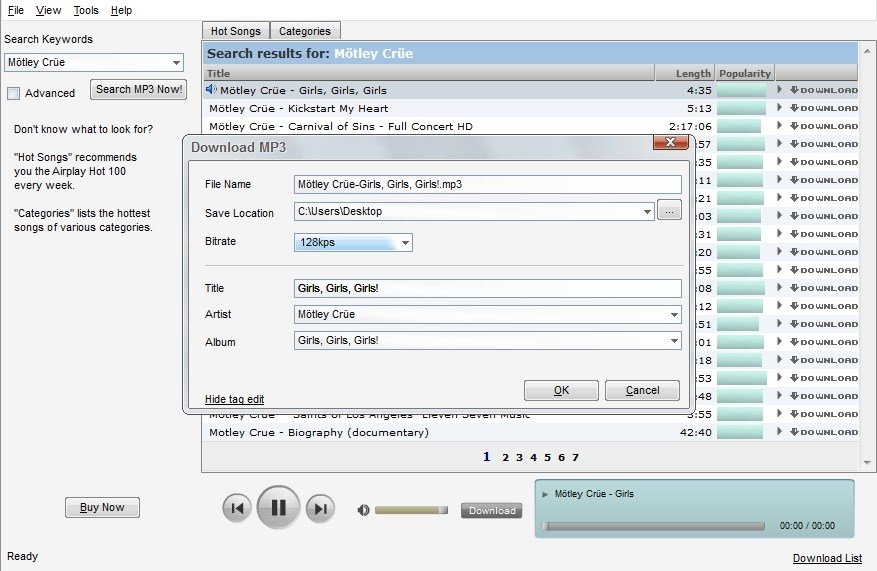 Music MP3 Downloader 5.7.3.8 - Download for PC Free
