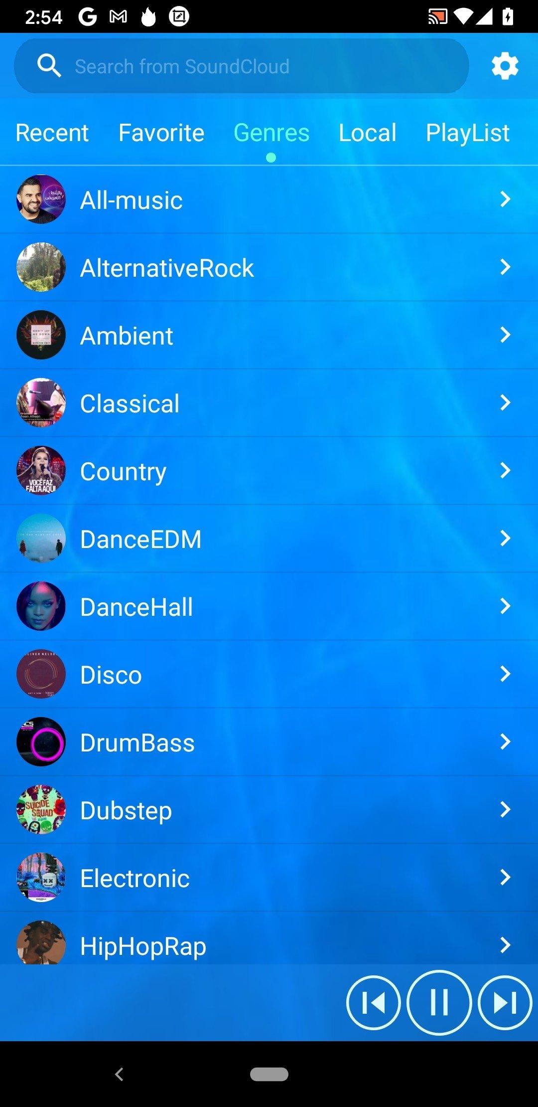 Musique Gratuit Android image 6