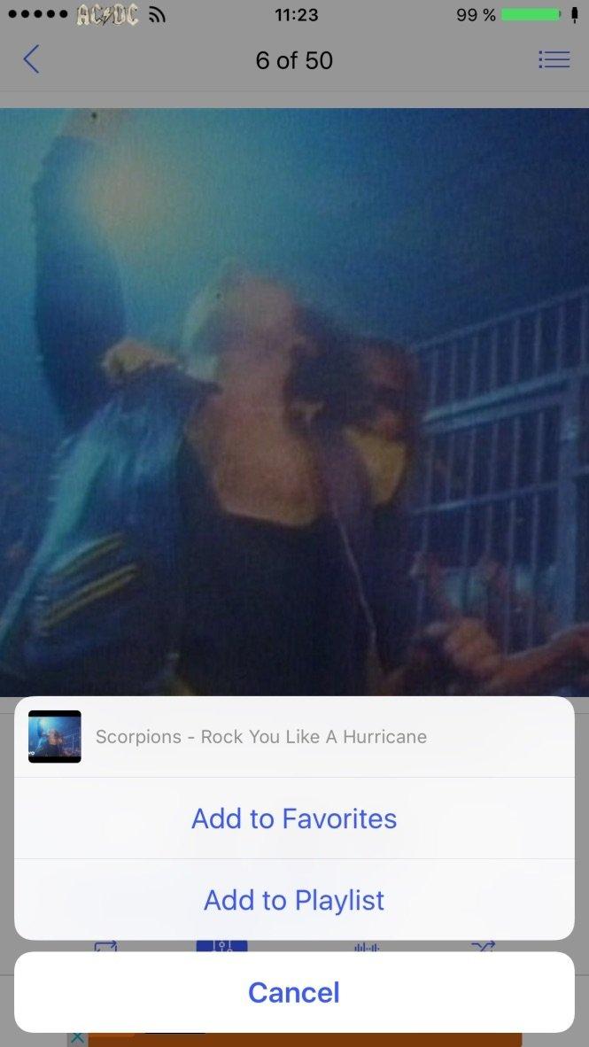 Musique sans limite et lecteur Mp3 iPhone image 6