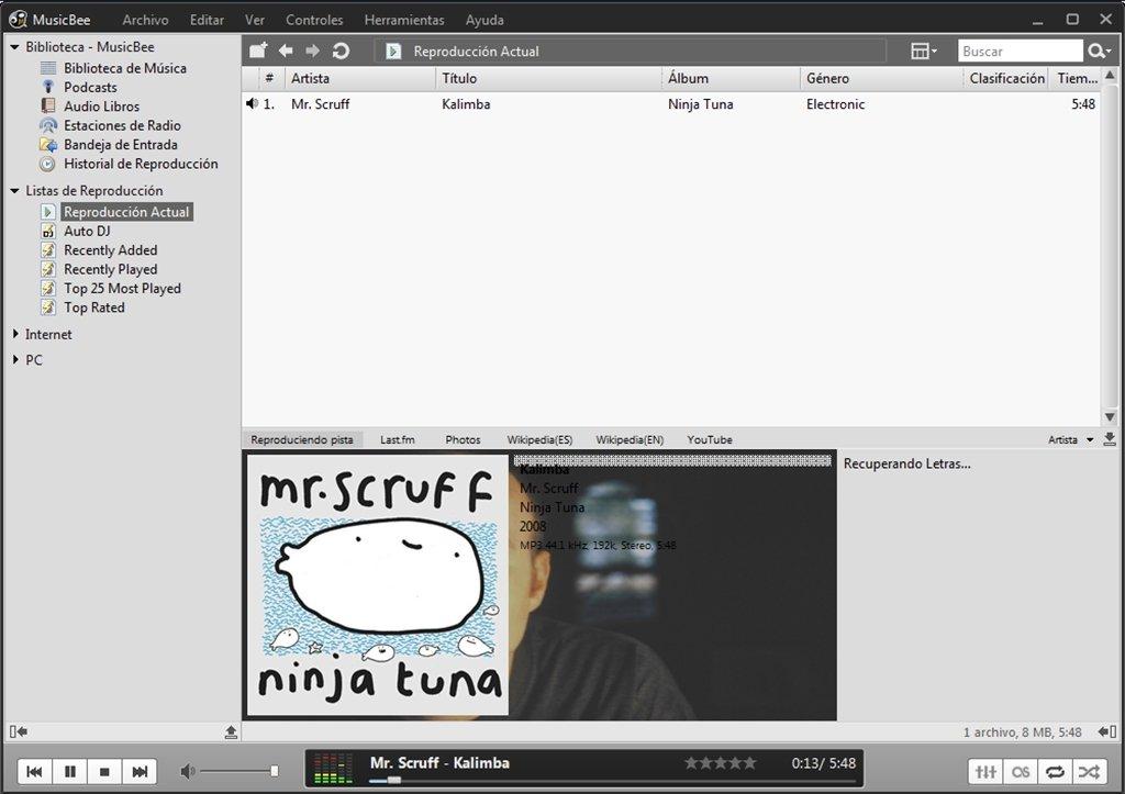MusicBee image 6