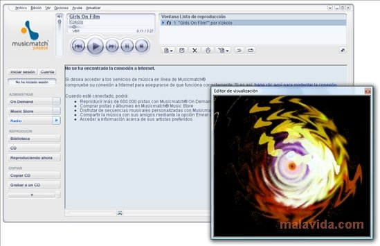 musicmatch jukebox para pc windows 10