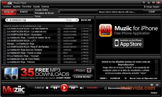 Muziic 2 01 - Download for PC Free