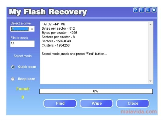 My Flash Recovery image 3