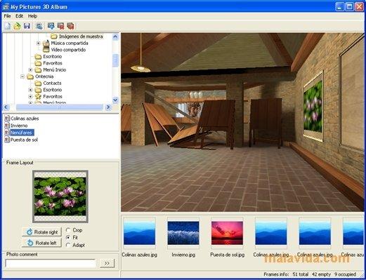 My Pictures 3D Album image 4