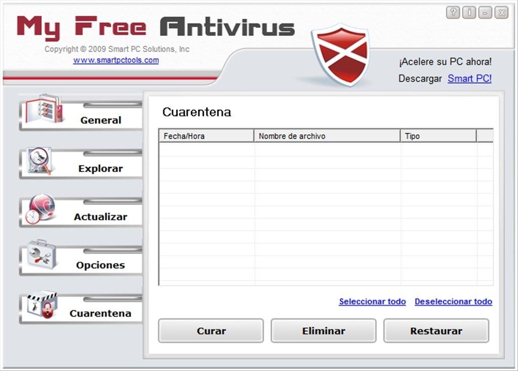 Myfreeantivirus 2. 2 download for pc free.