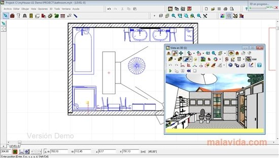 Download myhouse 11 0 gratis in italiano for Disegnare in tre d gratis