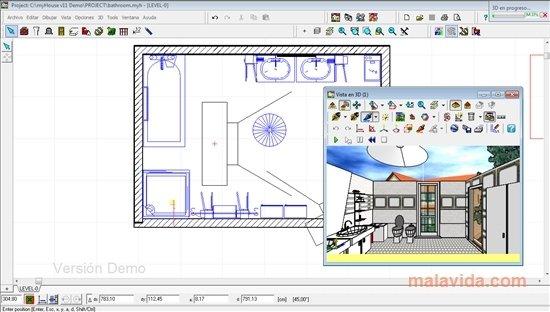 Myhouse 11 0 baixar para pc gr tis for Programmi per disegnare in 3d gratis