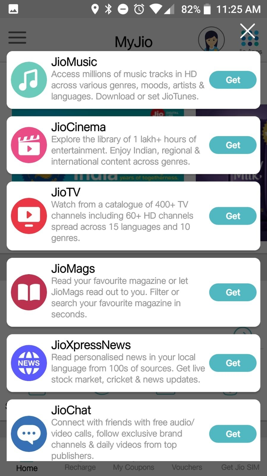 MyJio 5 0 28 - Download for Android APK Free