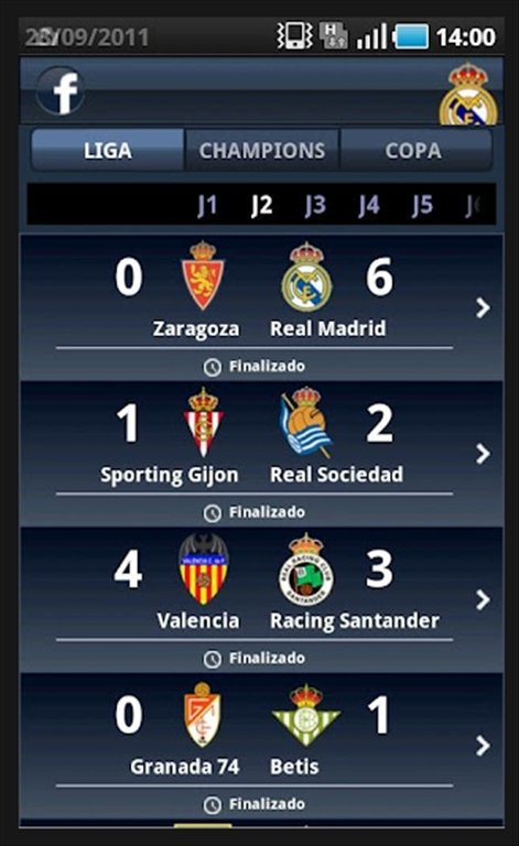 mymadrid android