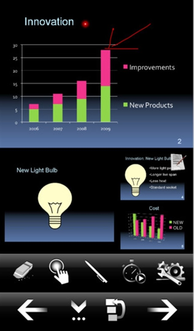 MyPoint PowerPoint Remote iPhone image 5