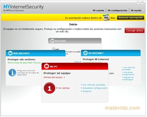 MySecurityCenter Internet Security Suite Silver - Download