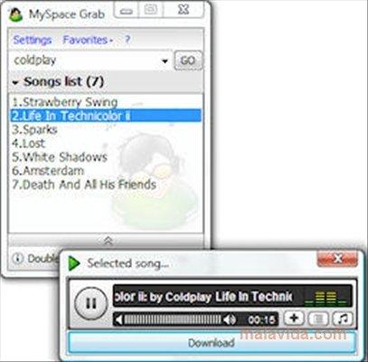 MySpace Grab image 4