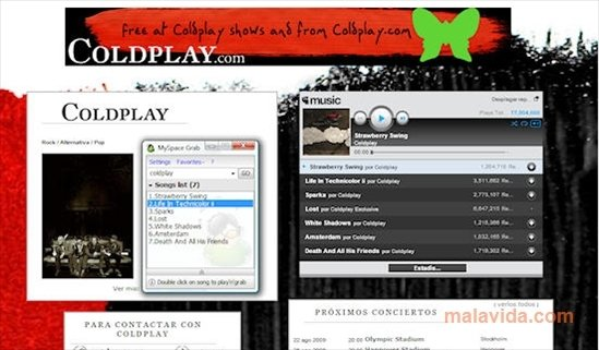 MySpace Grab 1 0 0 - Download for PC Free