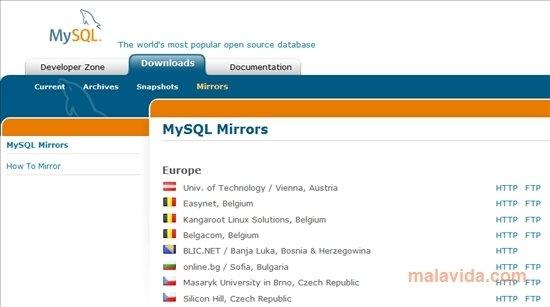 MySQL 5 Linux image 3