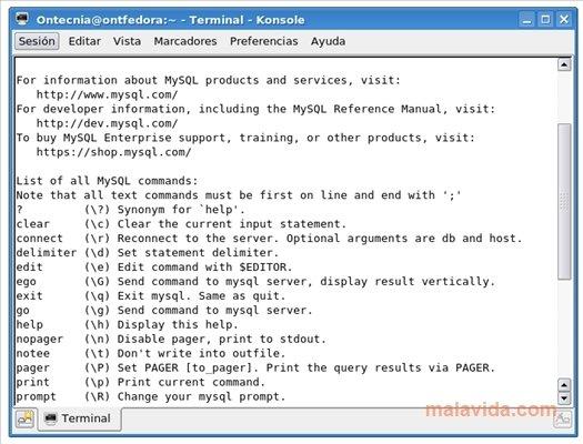 MySQL 5 Client Linux image 2