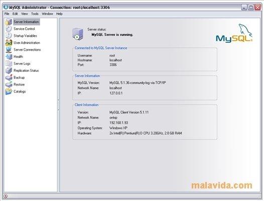 mysql gui tools 5.0 r17