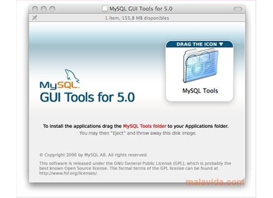 MySQL GUI Tools 5 0-r12 - Download for Mac Free