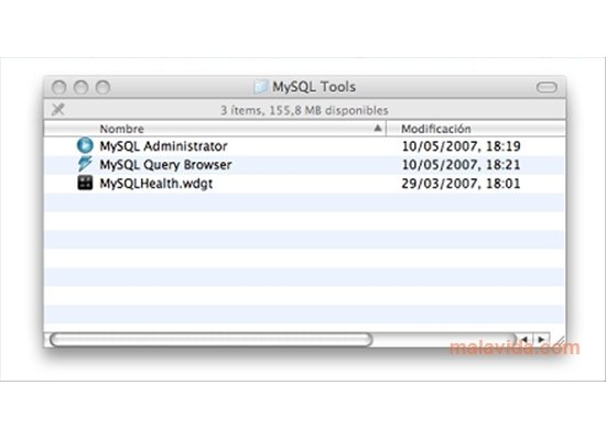 MySQL GUI Tools 5 0-r12 - Download for Mac Free