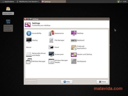 Mythbuntu Linux image 4