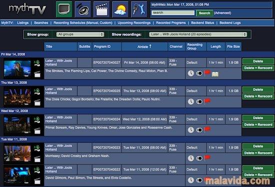 MythTV Linux image 7