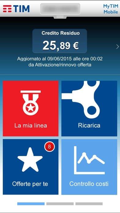 applicazione mytim mobile