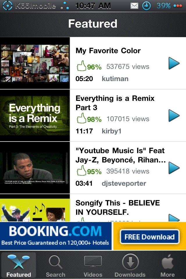 MyTube for YouTube iPhone image 3