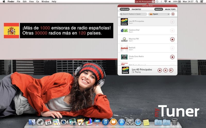 myTuner Radio Mac image 3