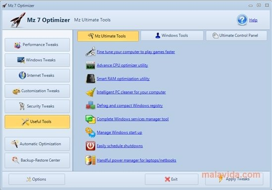 Mz 7 Optimizer 1 1 0 - Download for PC Free