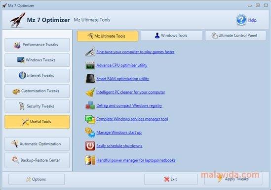 Mz 7 Optimizer image 4