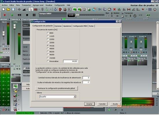 n-Track Studio 9 0 2 - Descargar para PC Gratis
