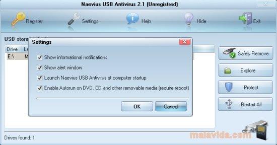 Naevius USB Antivirus image 4