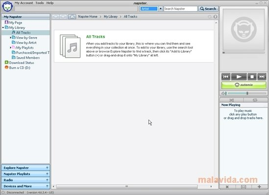 Napster 1 11 0 0 - Download for PC Free