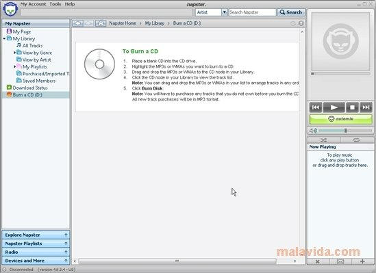 logiciel napster