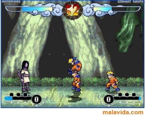 скачать игру Mugen Naruto - фото 9