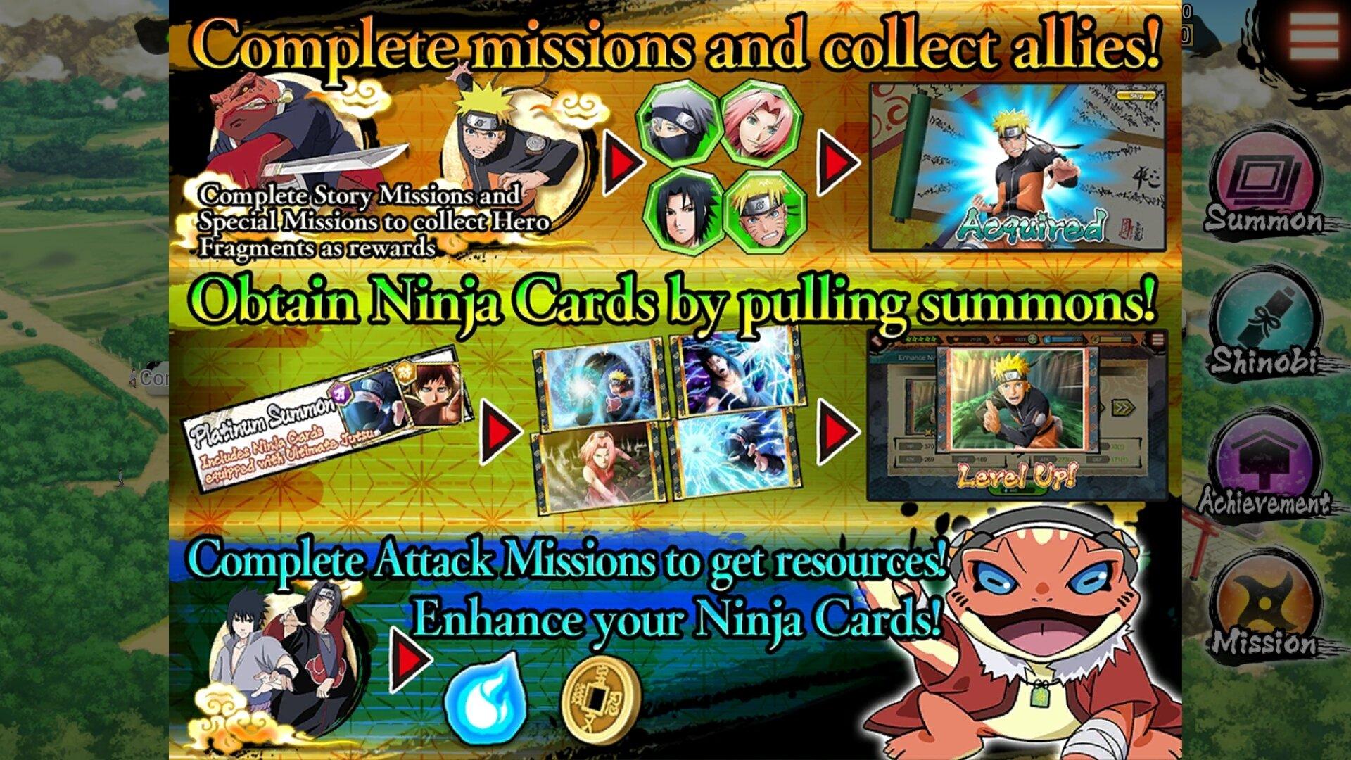 Naruto X Boruto Ninja Voltage 1 1 1 Android Baixar Apk