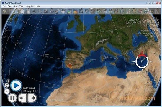 NASA World Wind image 5