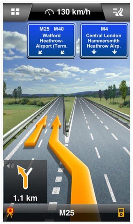 NAVIGON Iberia iPhone image 5