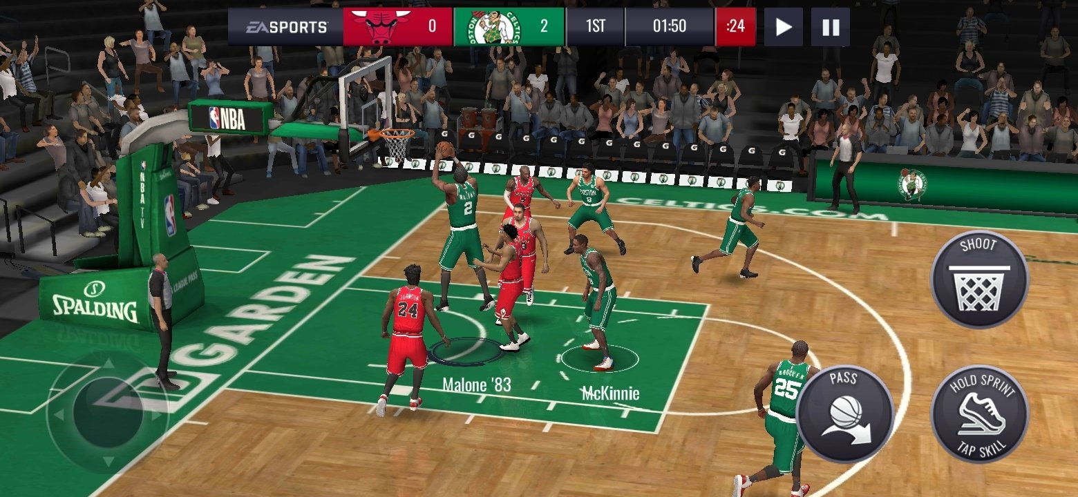 NBA LIVE Mobile Android image 5
