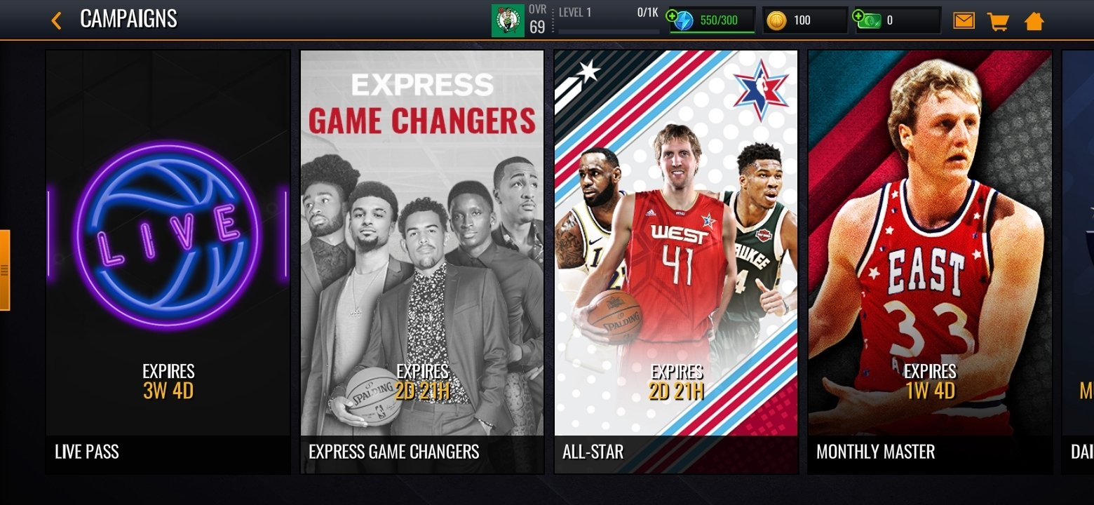 how to layup in nba live mobile