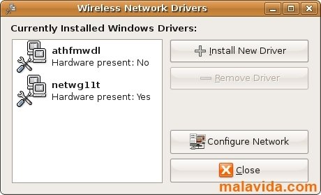 Ndiswrapper Linux image 2
