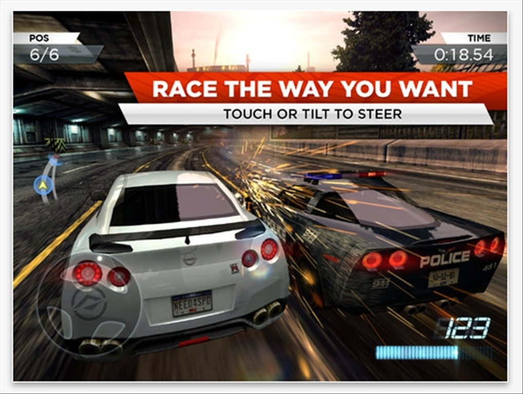 Need for Speed Most Wanted - Download for iPhone Free