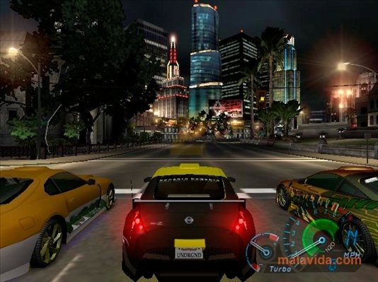 Need for Speed Underground Demo