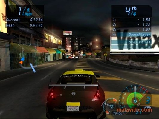 Need for Speed Underground - Download for PC Free